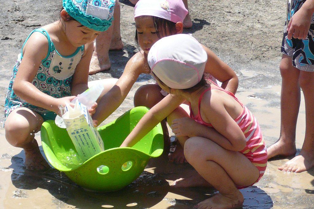 夏到来!水遊び